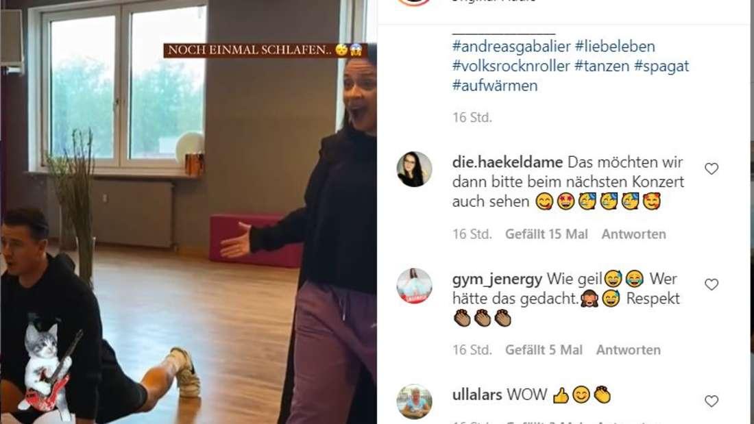 Schlager: Andreas Gabalier bald Profitänzer? Musiker sitzt im perfekten Spagat