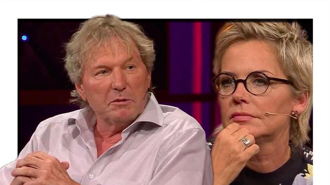 MDR-Riverboat am 4. Juni 2021: Inka Bause ist Gast-Moderatorin und interviewt Schlagerstar Bernhard Brink (Fotomontage)