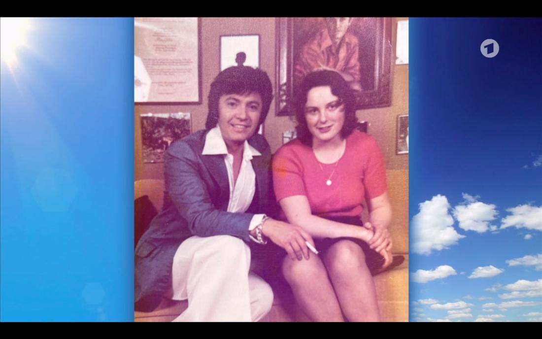 Annegret Biehn und Rex Gildo 1974