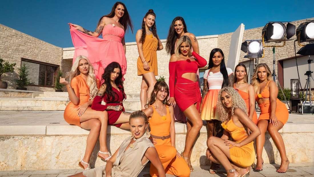 Die Verführerinnen der dritten Staffel Temptation Island bei RTL.