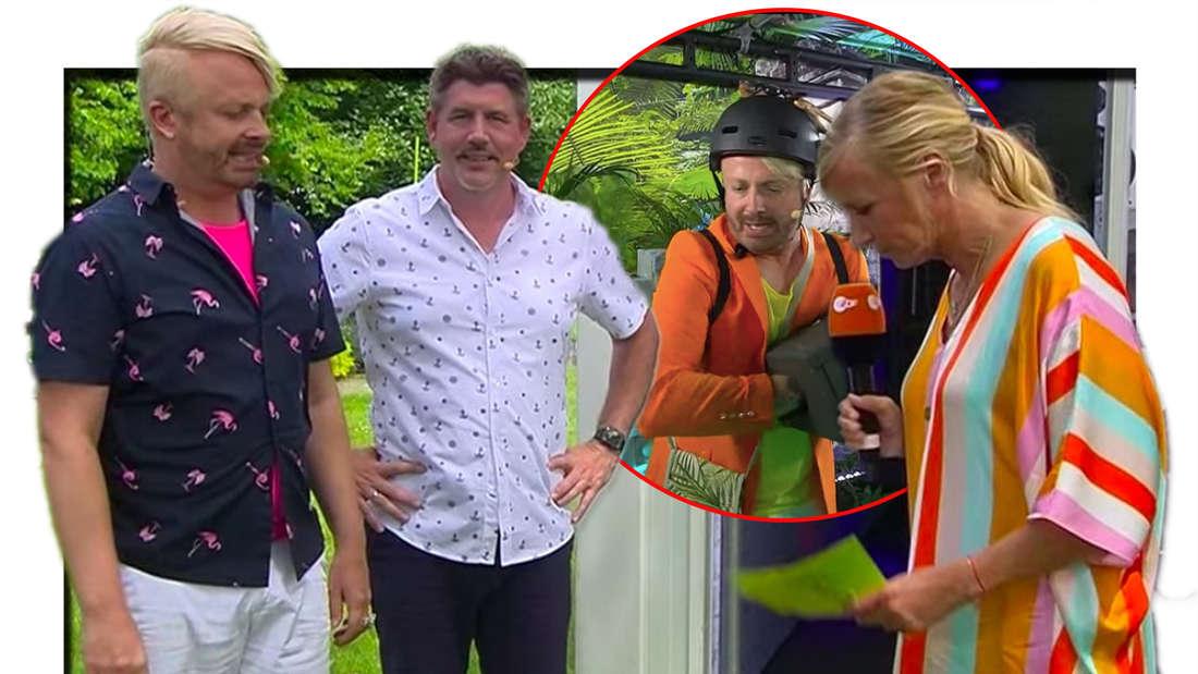 Ross Antony und Paul Reeves enttäuscht bei Andre Kiewel: Der erste Escape-Room war eine Pleite - dann holen sie jedoch auf. (Fotomontage)