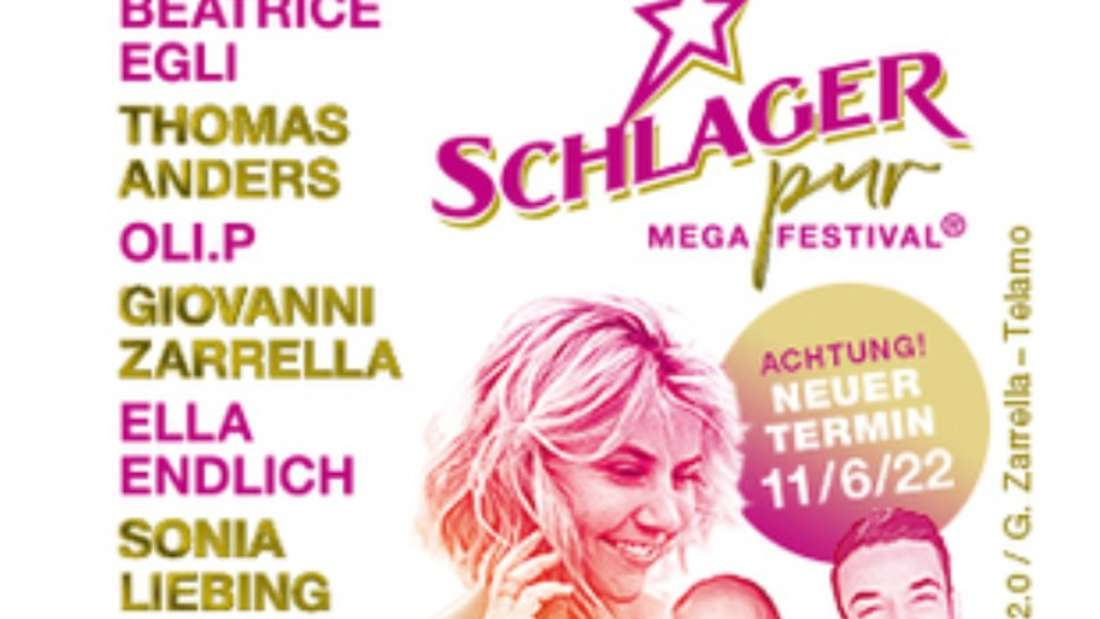 """Bild des Line-ups von Schlagerfestival """"Schlager-pur"""""""