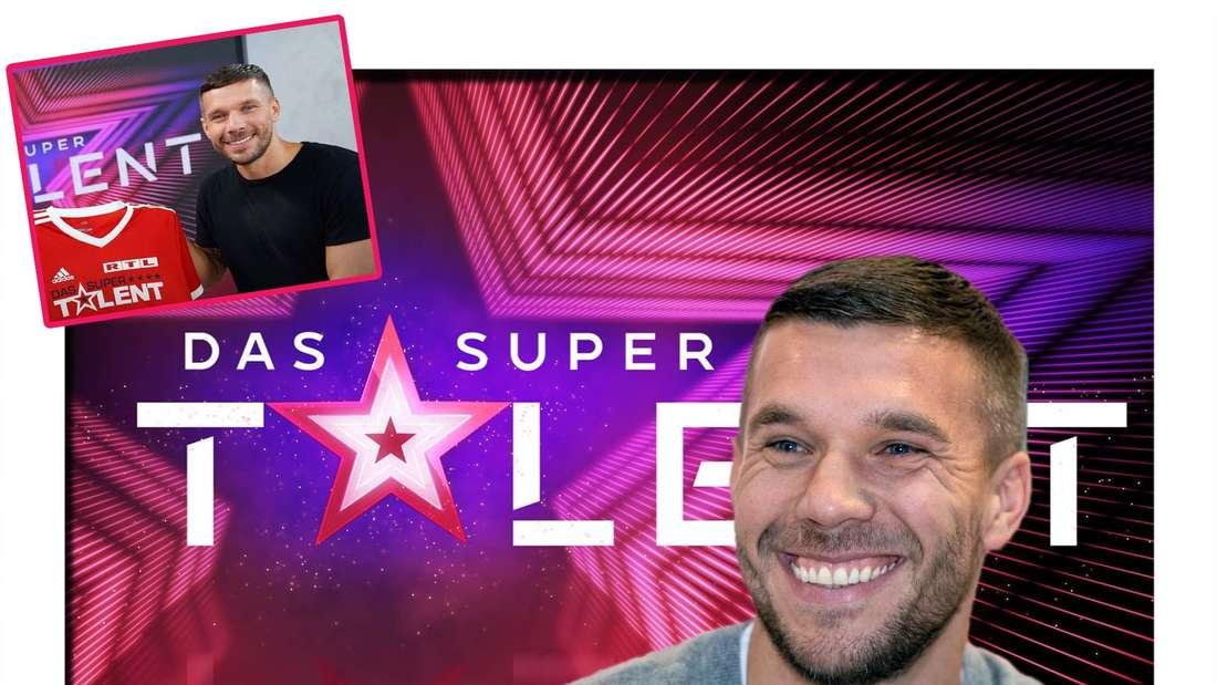 Fotomontage: Lukas Podolski wird neuer Juror beim Supertalent