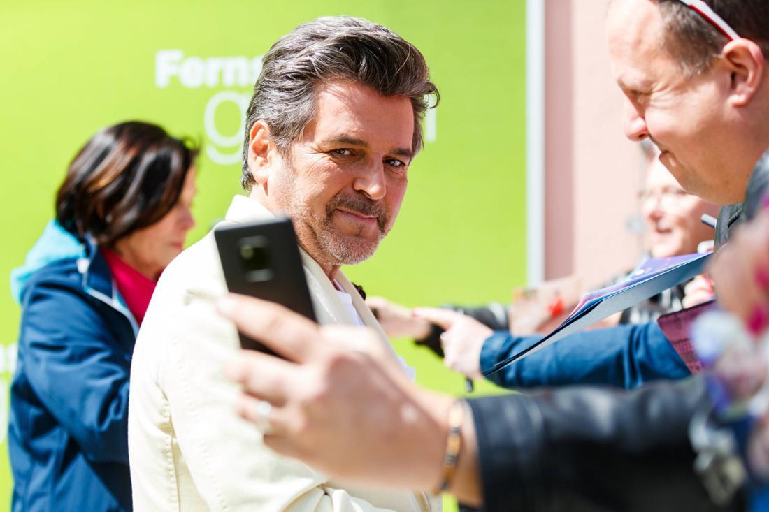 Thomas Anders bei einer Autogrammstunde vom ZDF-Fernsehgarten