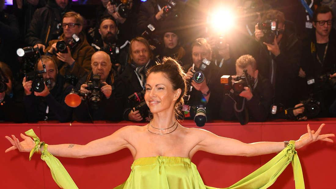 Schauspielerin Jana Pallaske bei der feierlichen Eröffnung der Internationalen Filmfestspiele