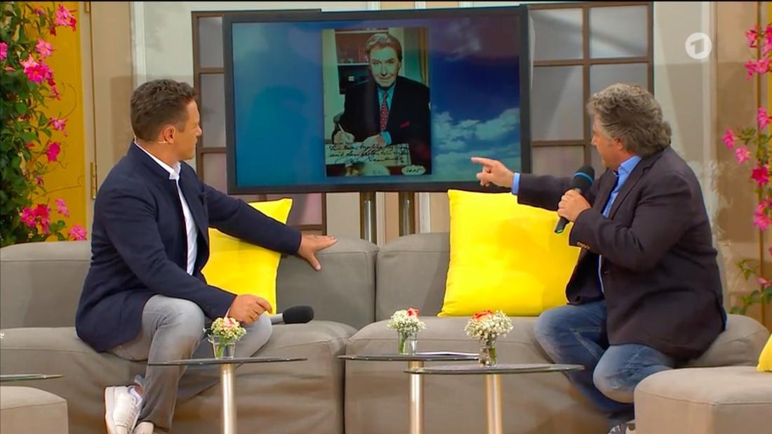 """Stefan Mross und Andy Borg erinnern im """"Legenden-Talk"""" an Peter Alexander"""