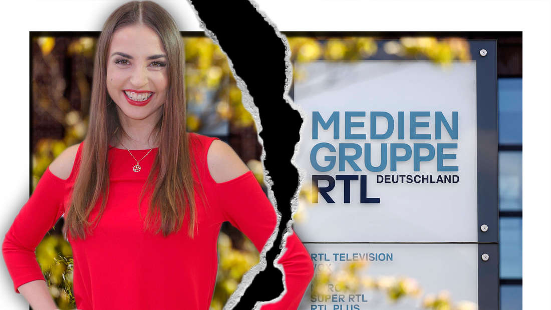 Fotomontage: Ekaterina Leonova und Mediengruppe RTL-Schild