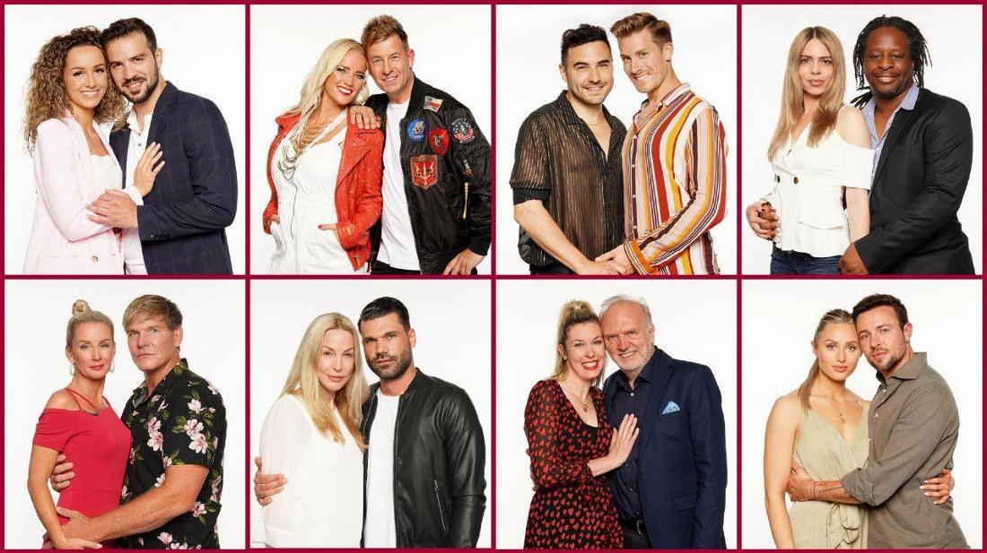 Die Kandidaten des Sommerhaus 2021 posieren für RTL