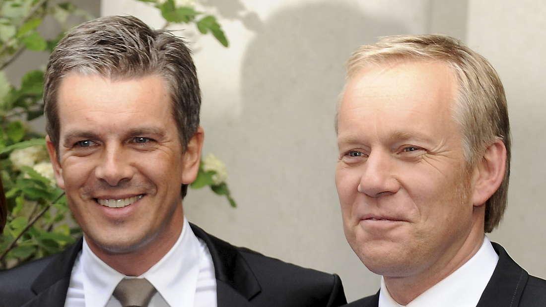 Markus Lanz und Johannes B Kerner