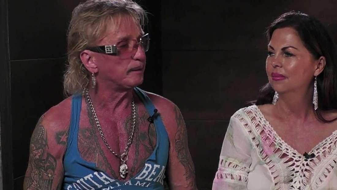 Bert Wollersheim und Bobby Anne Baker im Sommerhaus der Stars
