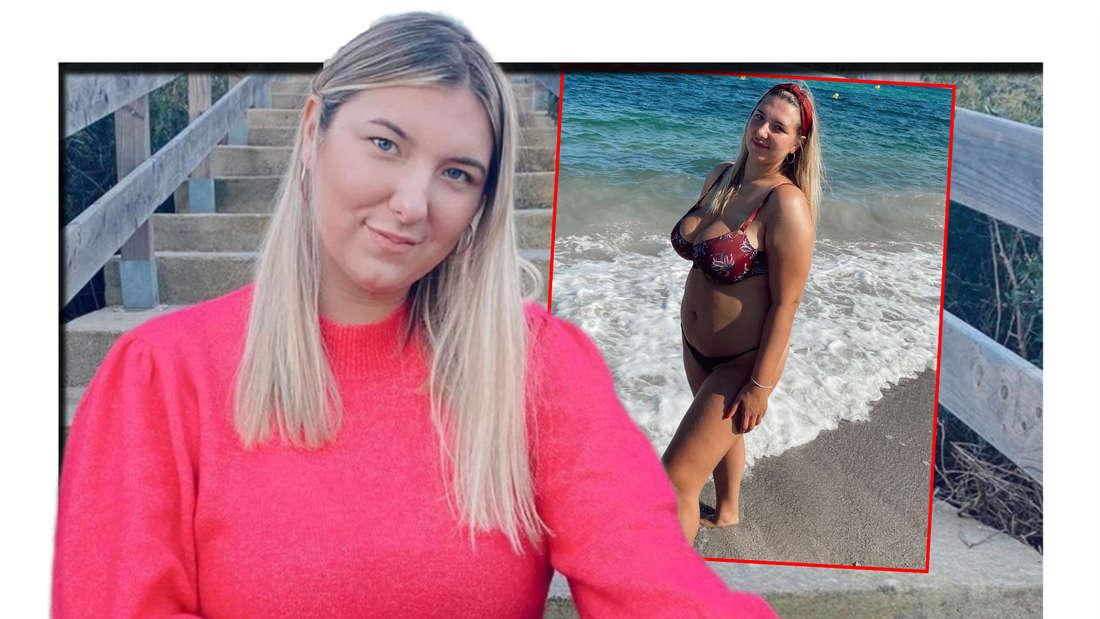 Joelina, die Tochter von Danni Büchner, begeistert mit einem Bikini-Foto. (Fotomontage)