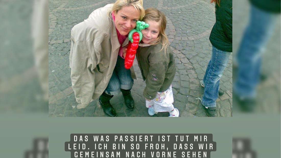 Schlagerstar Michelle entschuldigt sich mit einer Instagram-Story bei ihrer Tochter Marie Reim