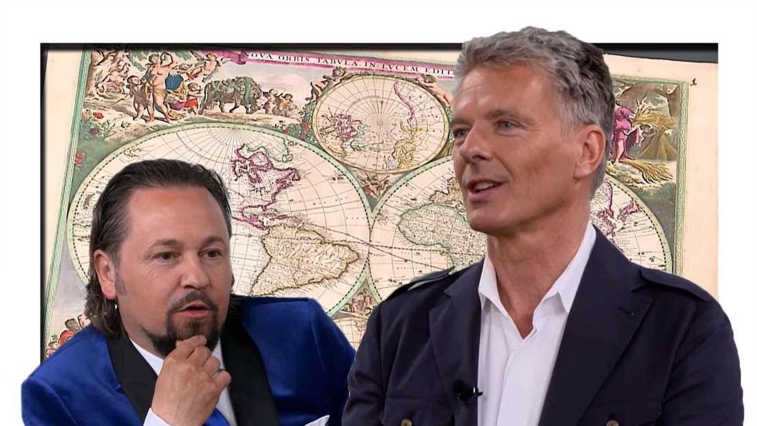 Fotomontage: Jörg Pilawa und Wolfgang Pauritsch bei Bares für Rares