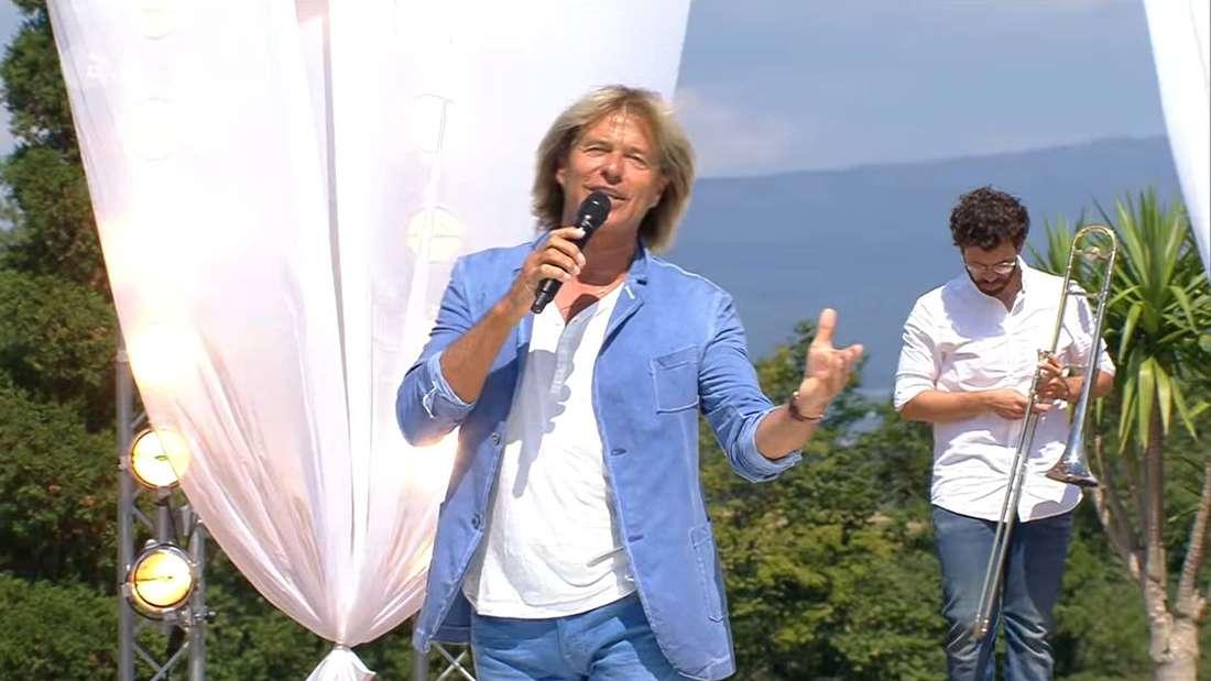 Hansi Hinterseer beim ZDF-Fernsehgarten