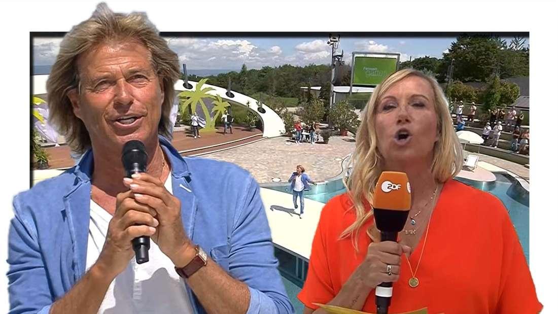 ZDF: Hansi Hinterseer und Andrea Kiewel im ZDF-Fernsehgarten
