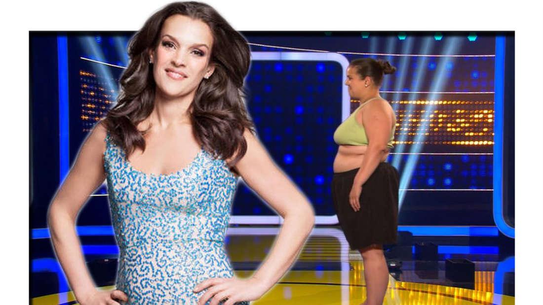 """Siegerin Alexandra Gregus im Finale von """"The Biggest Loser"""""""
