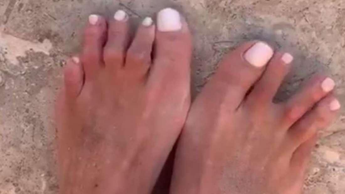 Frauke Ludowigs Füße