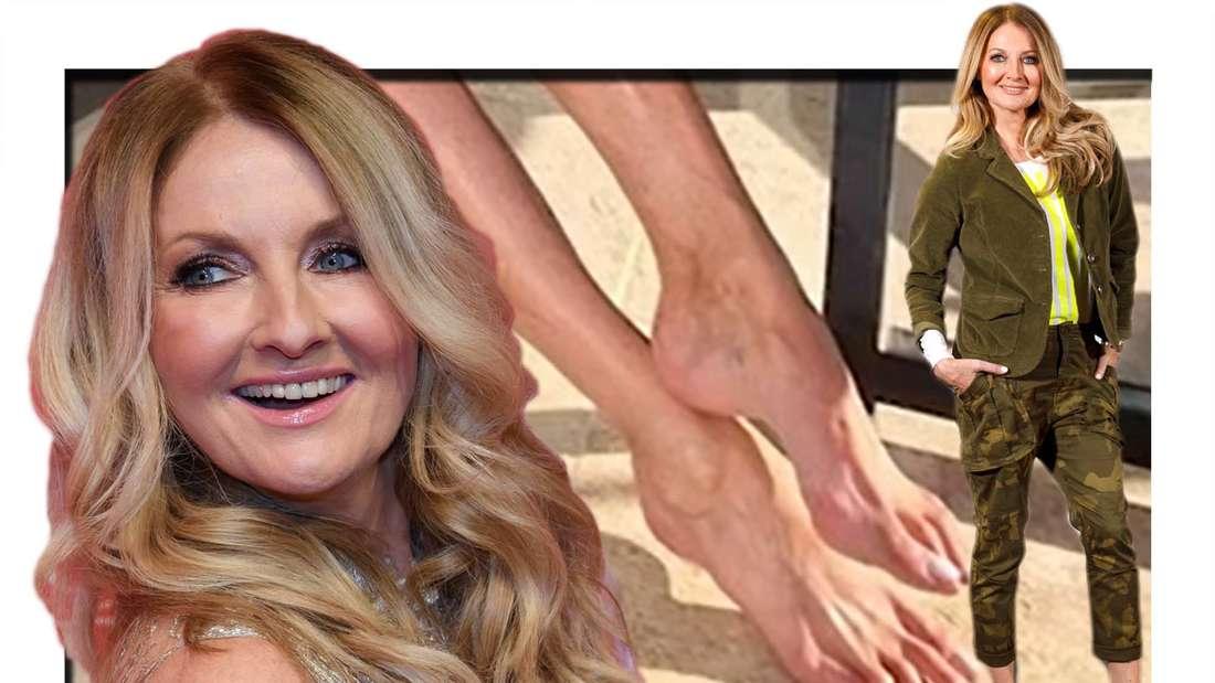 Fotomontage: Frauke Ludowig und ihre Füße