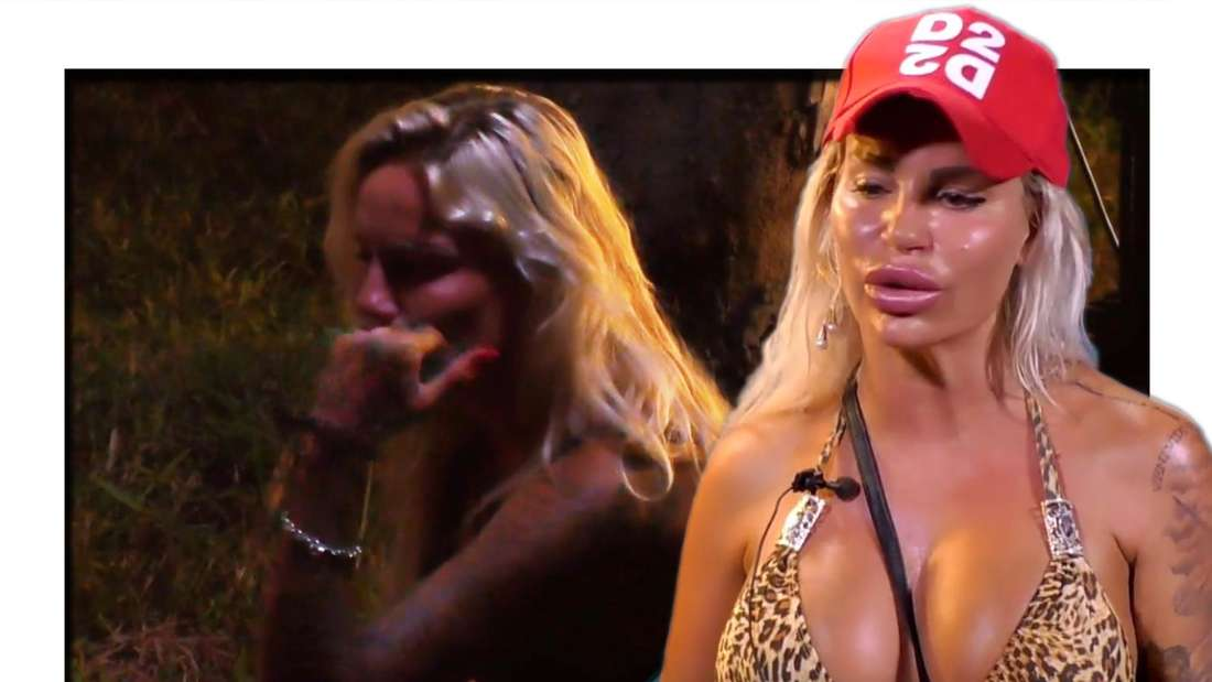 """Gina-Lisas Zusammenbruch spaltet die """"Kampf der Realitystars""""-Zuschauer. (Fotomontage)"""