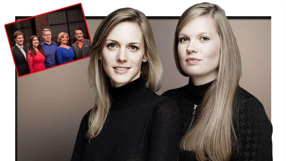 """Fotomontage: """"Lenchen""""-Gründerinnen AlexandraVázquez Bea und Annette Rieger sowie die Jury von DHDL"""