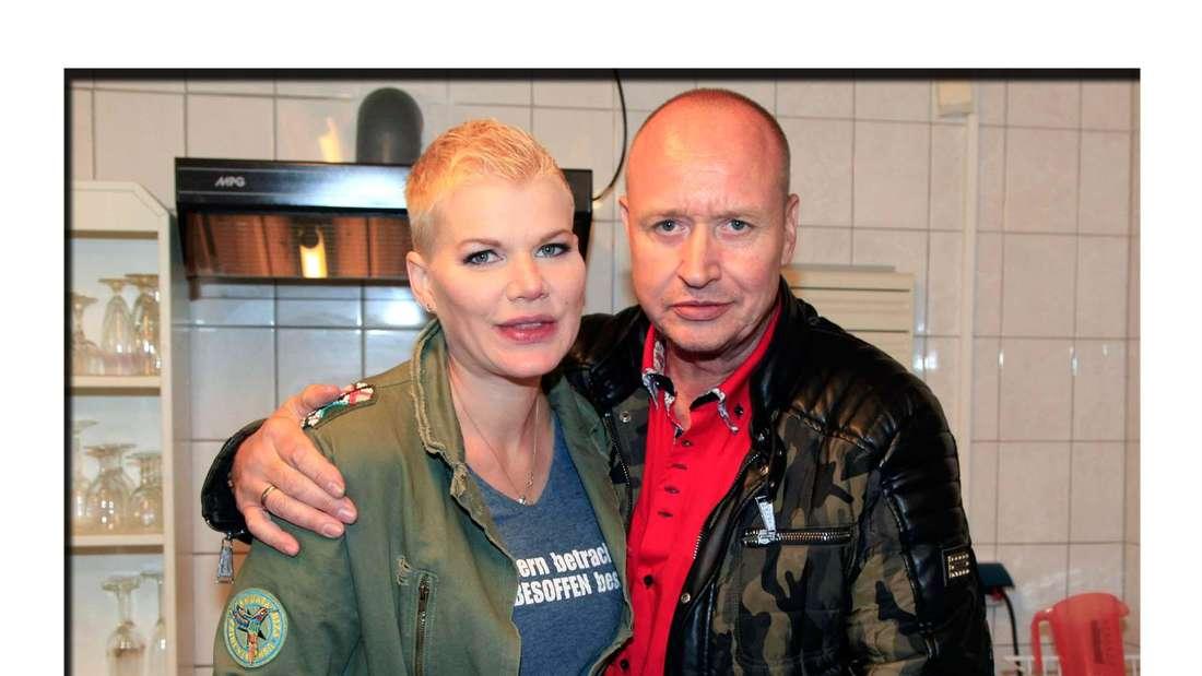 Melanie Müller und Ehemann Mike Blümer