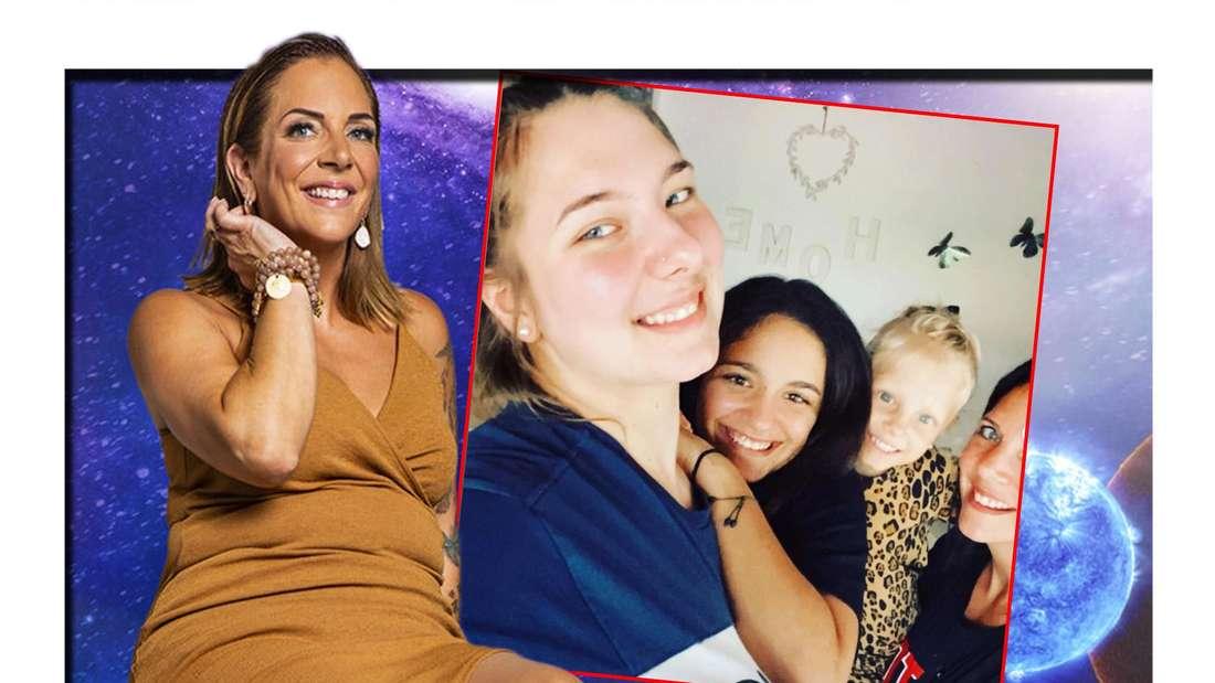 """Danni Büchner zieht bei """"Promi Big Brother"""" ein und ihre Kinder sind stolz. (Fotomontage)"""