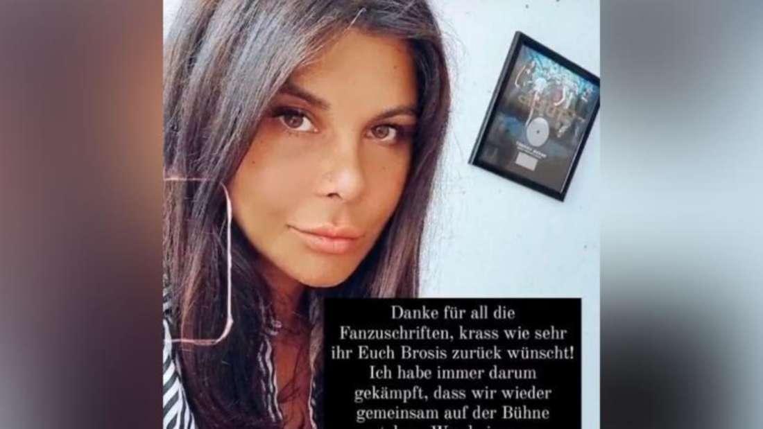 Ein Instagram-Post von Ex-Bro'Sis-Star Indira Weis, in welcher sie Giovanni Zarrella und Ross Antony kritisiert