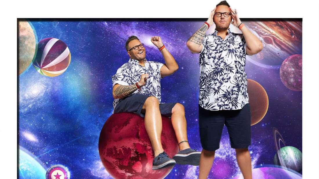 Fotomontage: Daniel Kreibich bei Promi Big Brother