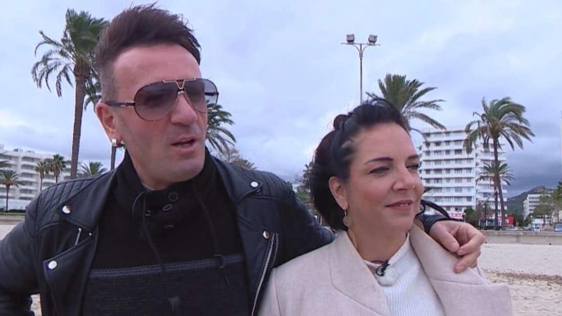 """Danni Büchner und Ennesto Monté im """"Goodbye Deutschland""""-Interview am Strand von Mallorca"""