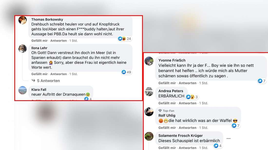 """Fans kritisieren Danni Büchners Zusammenbruch bei """"Goodbye Deutschland""""."""