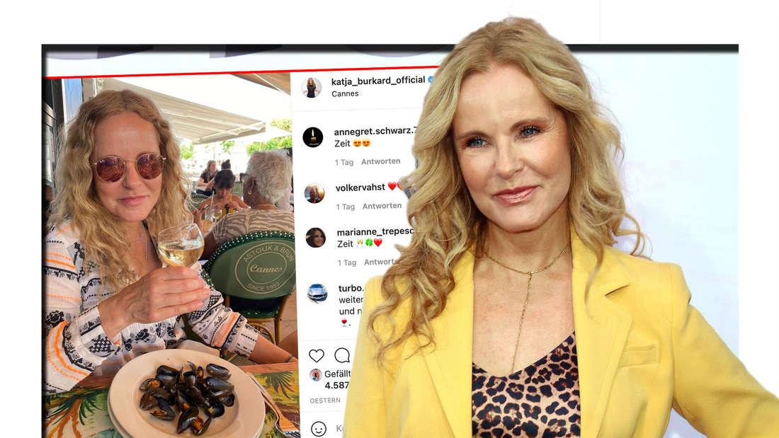 Katja Burkard wird von ihren Fans extrem für einen authentischen Urlaubs-Einblick gefeiert. (Fotomontage)