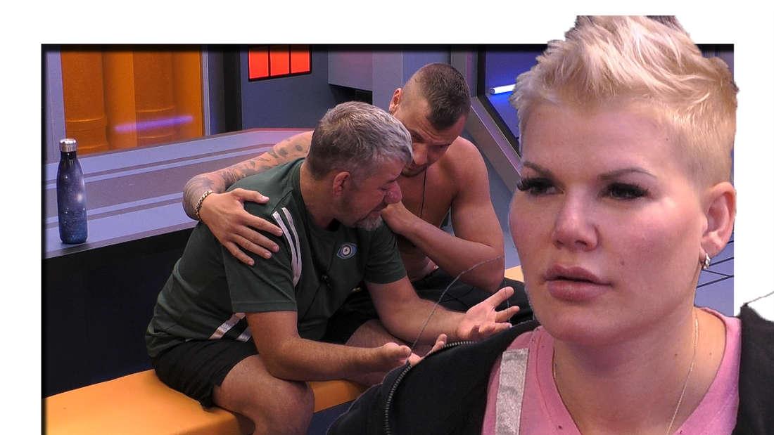 Uwe Abel ist am Boden zerstört - Melanie Müller schnauzt ihn an (Fotomontage)