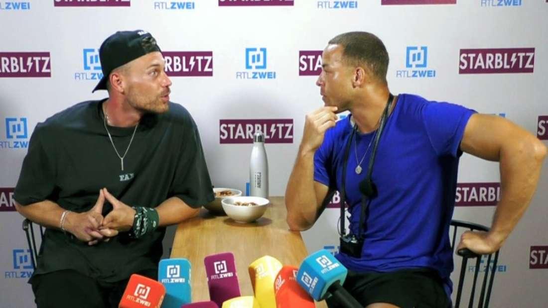 Chris Broy und Andrej Mangold bei Kampf der Realitystars