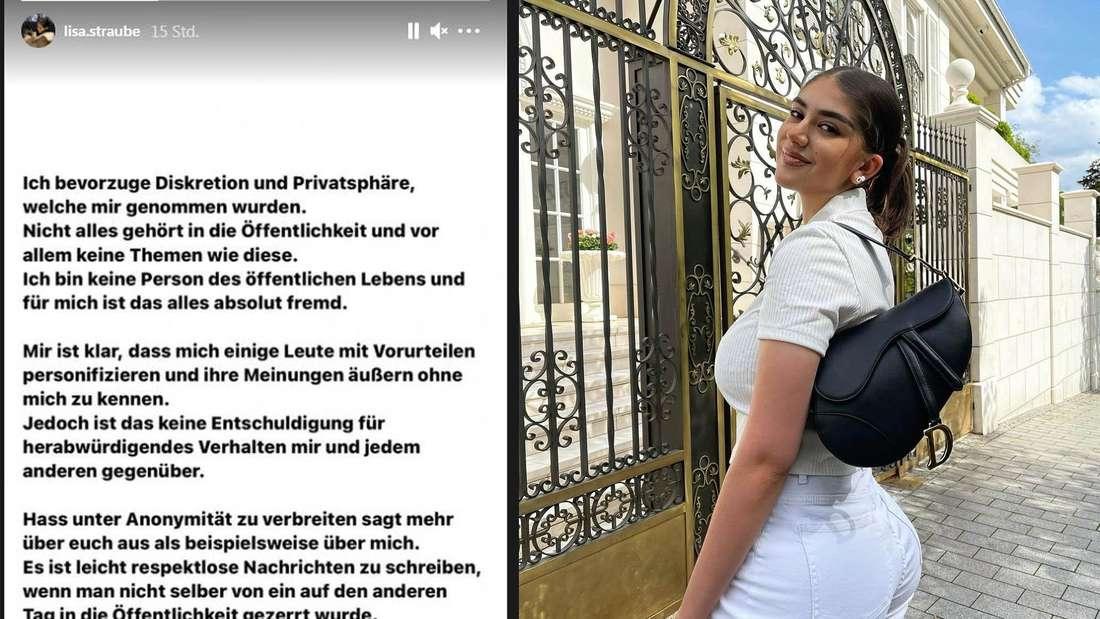 """Die Dortmunder Influencerin Lisa Marie Straube (21) kotzt sich in ihrer Instagram-Story aus. Sie sei """"in die Öffentlichkeit gezerrt worden"""" und alles sei neu für die Tischtennisspielerin."""