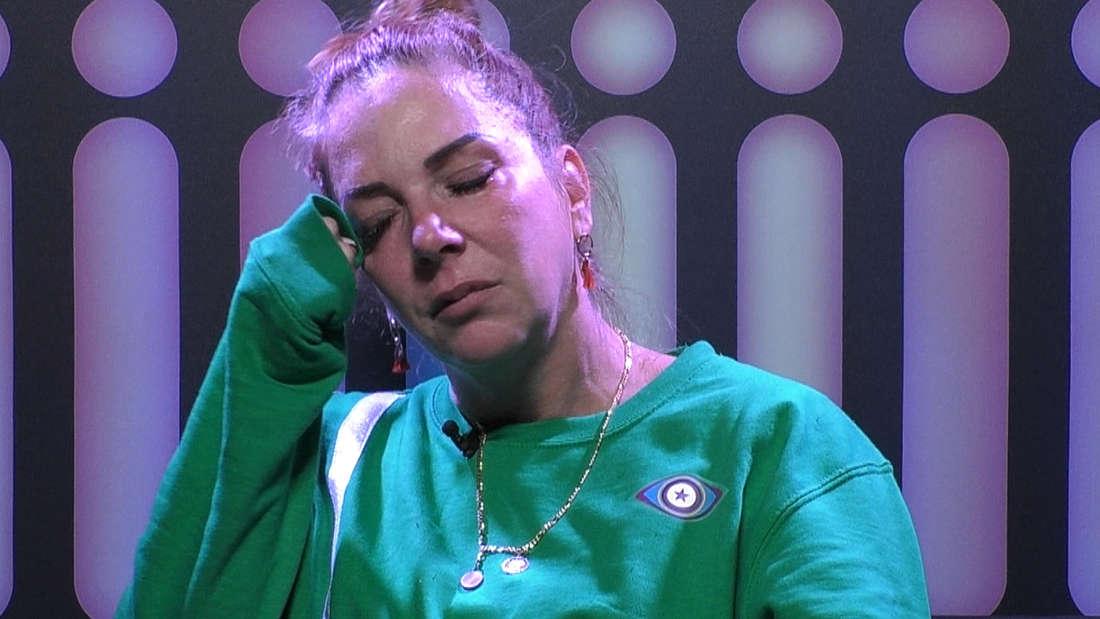 Danni Büchner bricht bei Promi Big Brother in Tränen aus