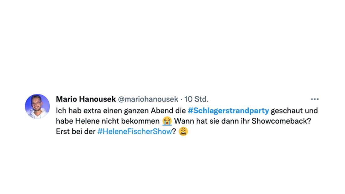 Fans schwer enttäuscht: Helene Fischer fehlte auf Florian Silbereisens Schlagerstrandparty