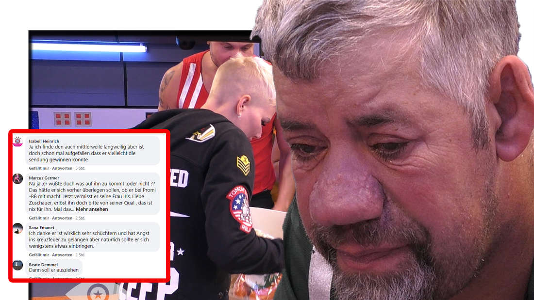 """""""Promi Big Brother""""-Bewohner genervt von Uwe, weil er zu still ist (Fotomontage)"""