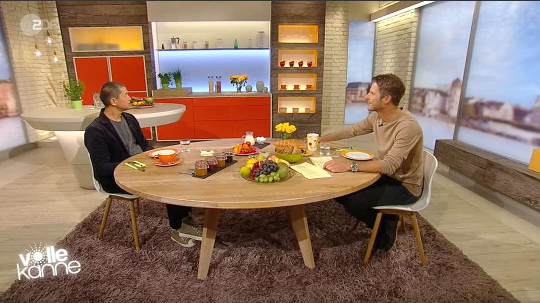 """""""Volle Kanne"""" (ZDF) am 17. August: Florian Weiss und der Architekt Van Bo Le-Mentzel sprechen übers Wohnen."""