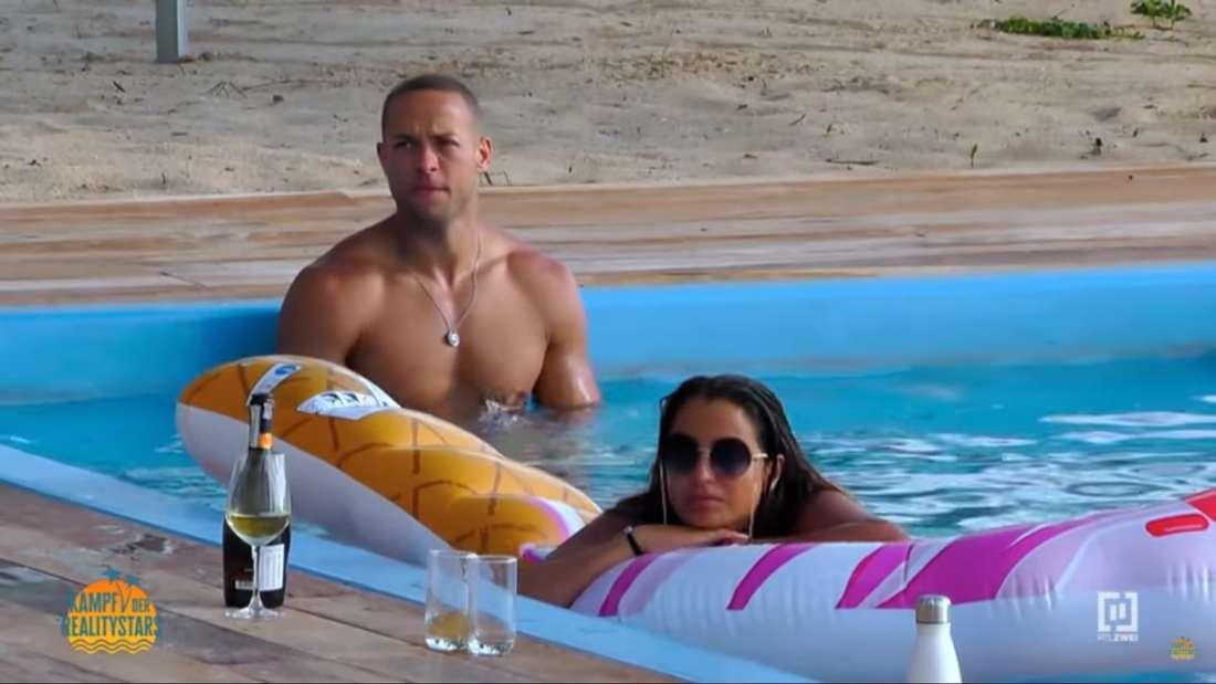 Jenefer und Andrej verbringen bei Kampf der Realitystars derzeit viel Zeit miteinander