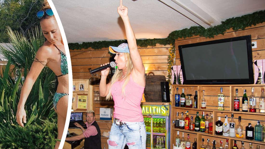 """""""Mega Bild"""": Fans feiern Bikini-Foto von Goodbye-Deutschland-Star Krümel (Fotomontage)"""