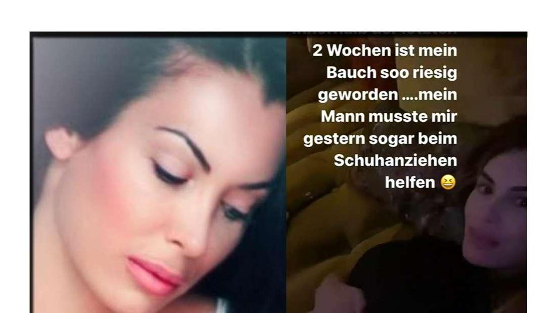 Anna-Maria Ferchichi meldet sich bei Instagram mit einem Baby-Update
