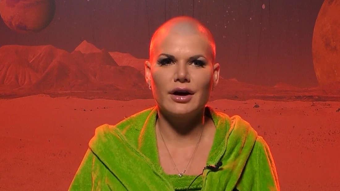 Melanie Müller trägt jetzt Glatze