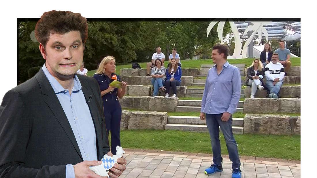 ZDF-Fernsehgarten: Andrea Kiewel und Lutz van der Horst