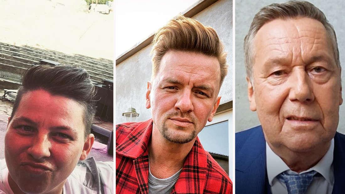 Bekannte Gesichter des Schlagers sind aktuell Teil einer Kampagne auf Social Media. Roland Kaiser und Co. rufen darin ihre Fans zur Impfung auf... (Fotomontage)