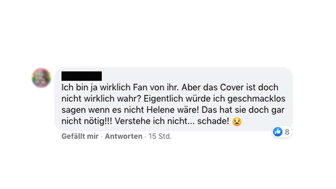 Das Cover-Foto von Helene Fischer sorgt im Netz für reichlich Aufregung.