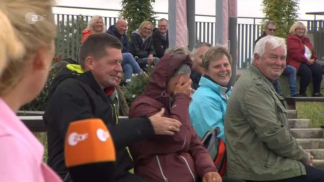 Publikum im ZDF-Fernsehgarten
