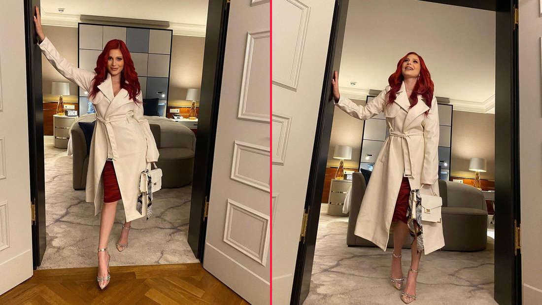 Pretty Woman Look: Marie Reim begeistert Fans im edlem Trenchcoat