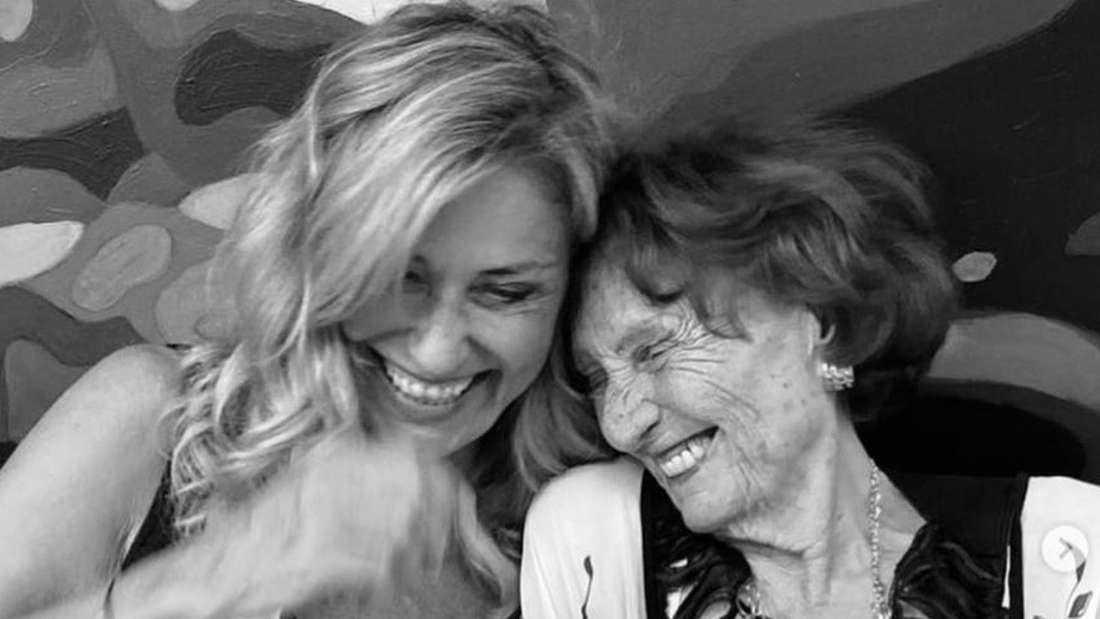 Dagmar Wöhrl mit ihrer Mutter