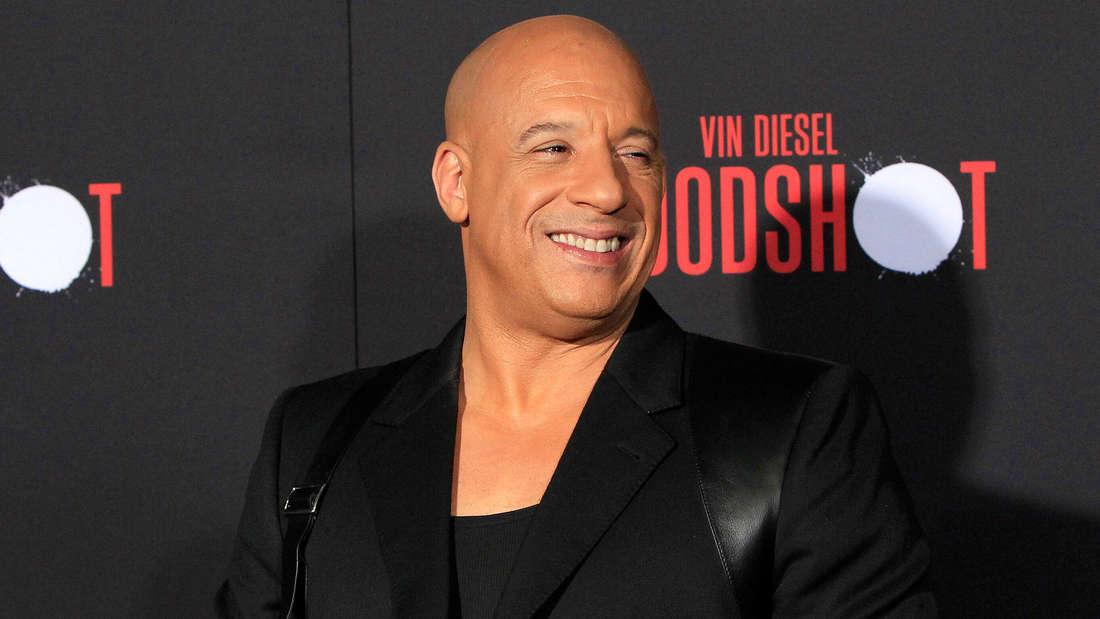 Vin Diesel lacht