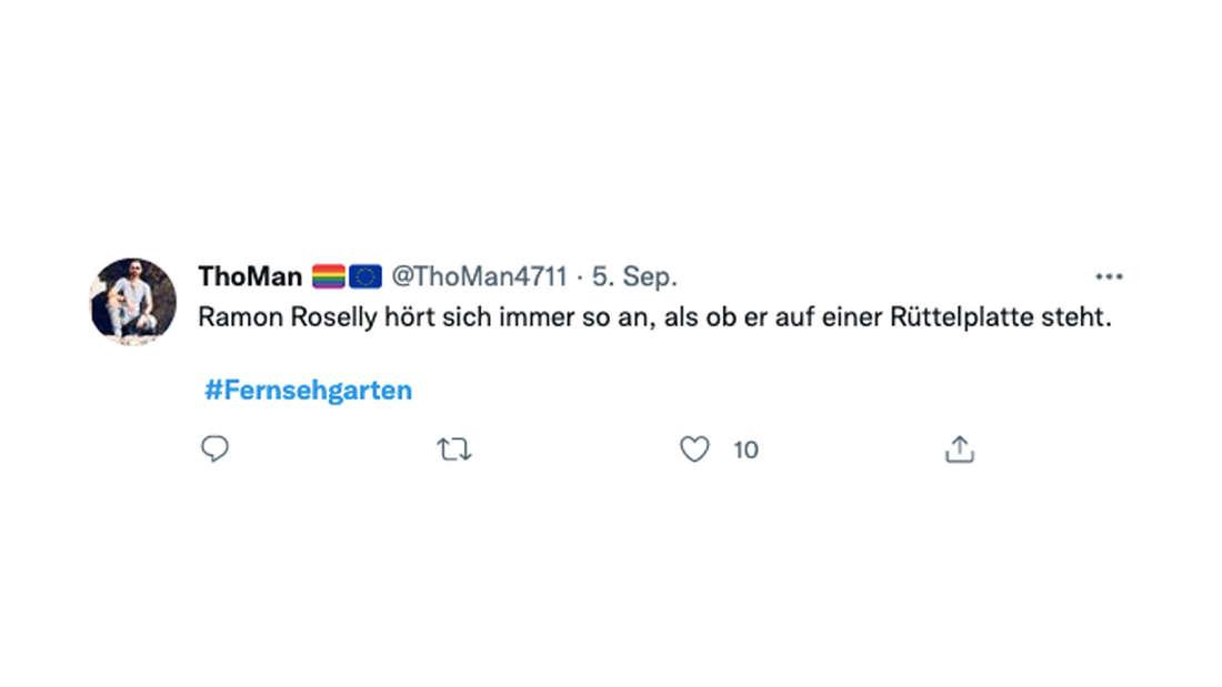 Fans zerreißen Auftritt von Ramon Roselly im ZDF-Fernsehgarten